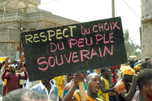 Oppositionsdemo2 13mar10 Togo (c)AFP